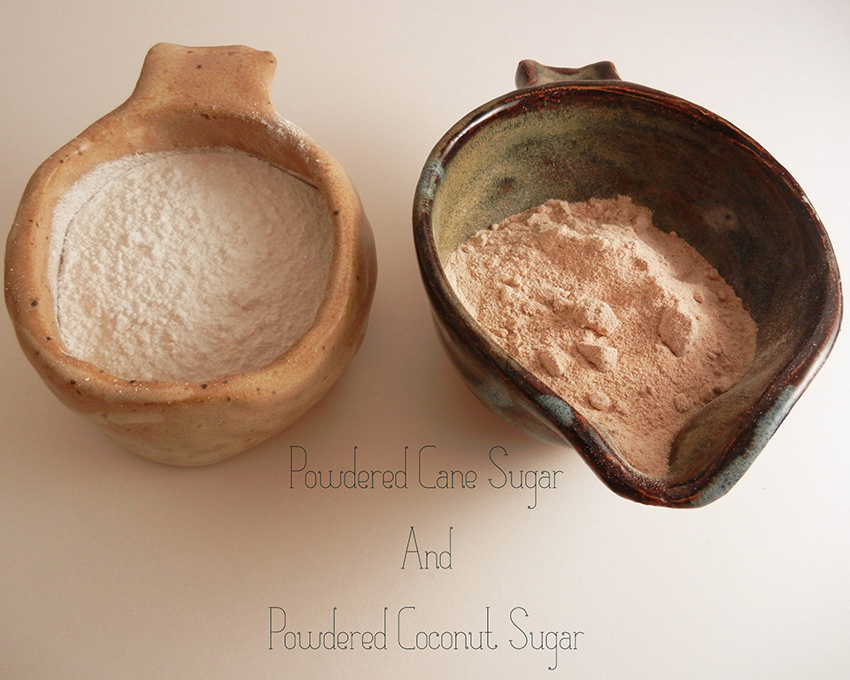 Homemade Powdered Sugar [Without Refined Sugar] [Vegan/Gluten Free] MakeRealFood.com