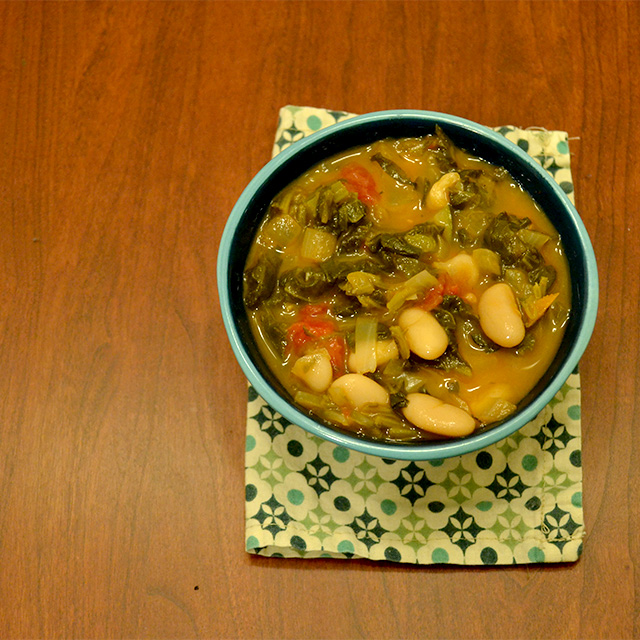 Tuscan Vegetable Soup [Vegan/Gluten Free]