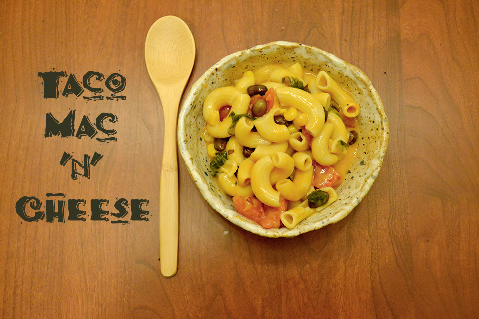 Taco Mac'n'Cheese [Vegan/Gluten Free]