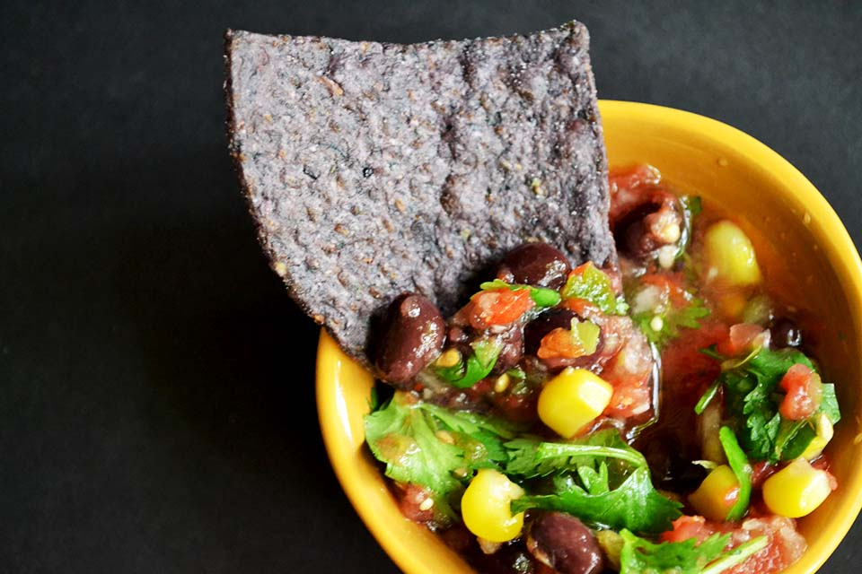 Homemade Fresh Vegetable Salsa [Vegan/Gluten Free]