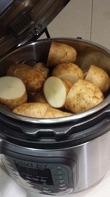 Baked Potatoes in the Instant Pot