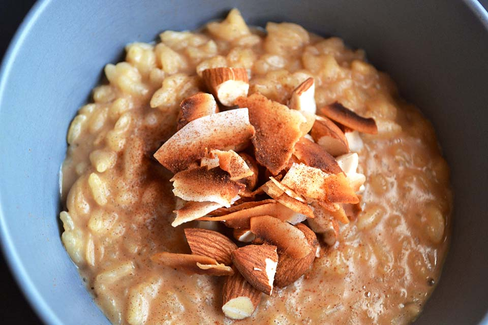 Coconut Almond Risotto in the Instant Pot - The New Fast Food Recipe
