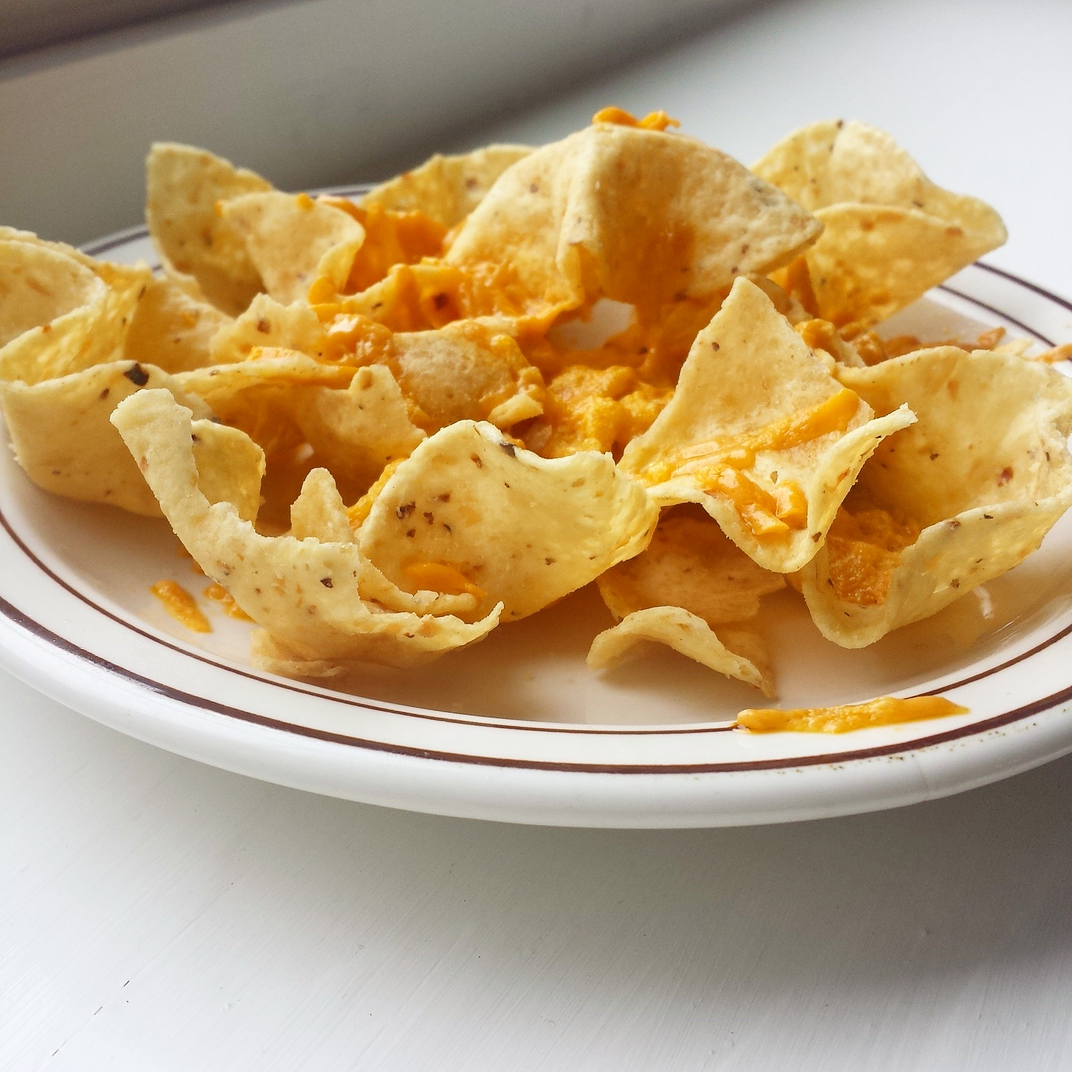 Minute Microwave Crunchy Nachos Your Lighter Side Nachos and cheese pictures